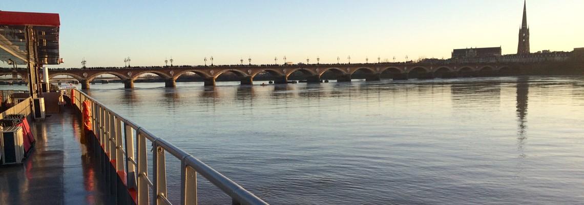 Au départ de Bordeaux
