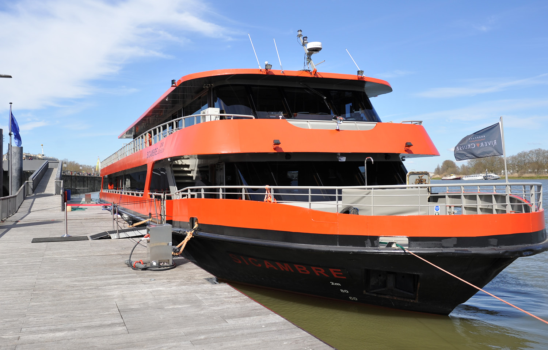 Le sicambre bateau à Bordeaux