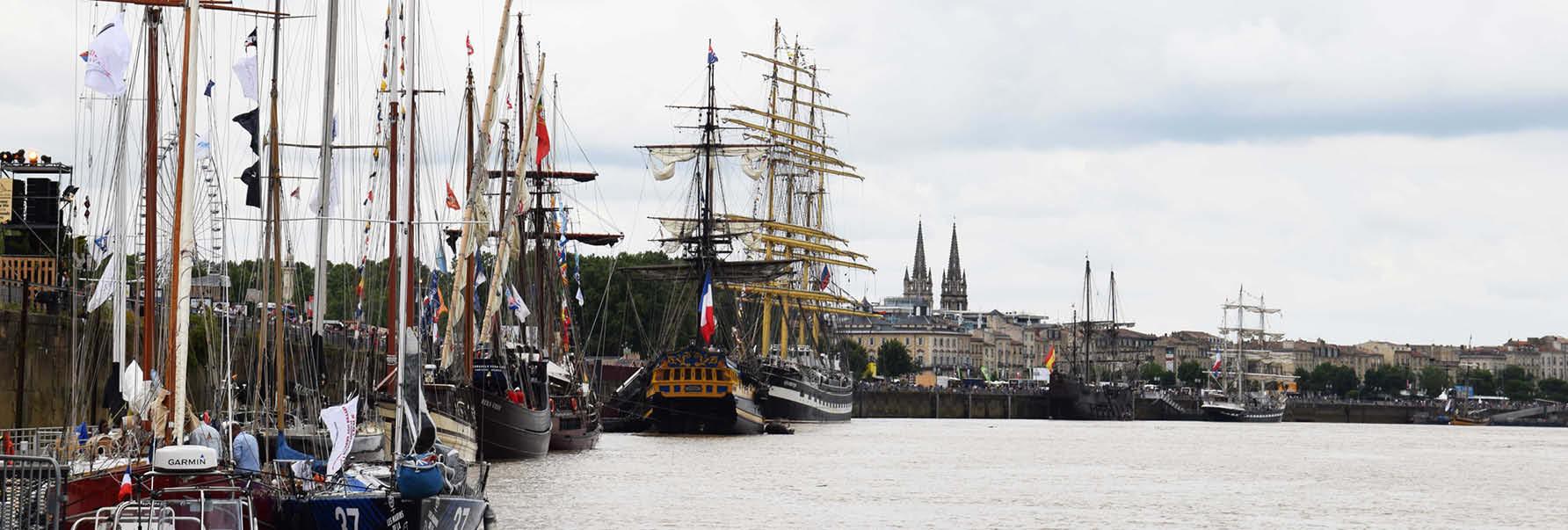 Croisière en groupe sur la Garonne