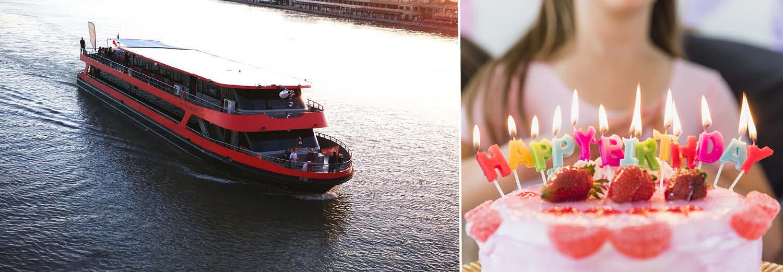 Je souhaite organiser mon anniversaire avec une location de péniche à Bordeaux pour danser sur le bateau jusqu'au bout de la nuit
