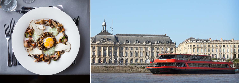 Croisière avec Déjeuner dans le port de Bordeaux